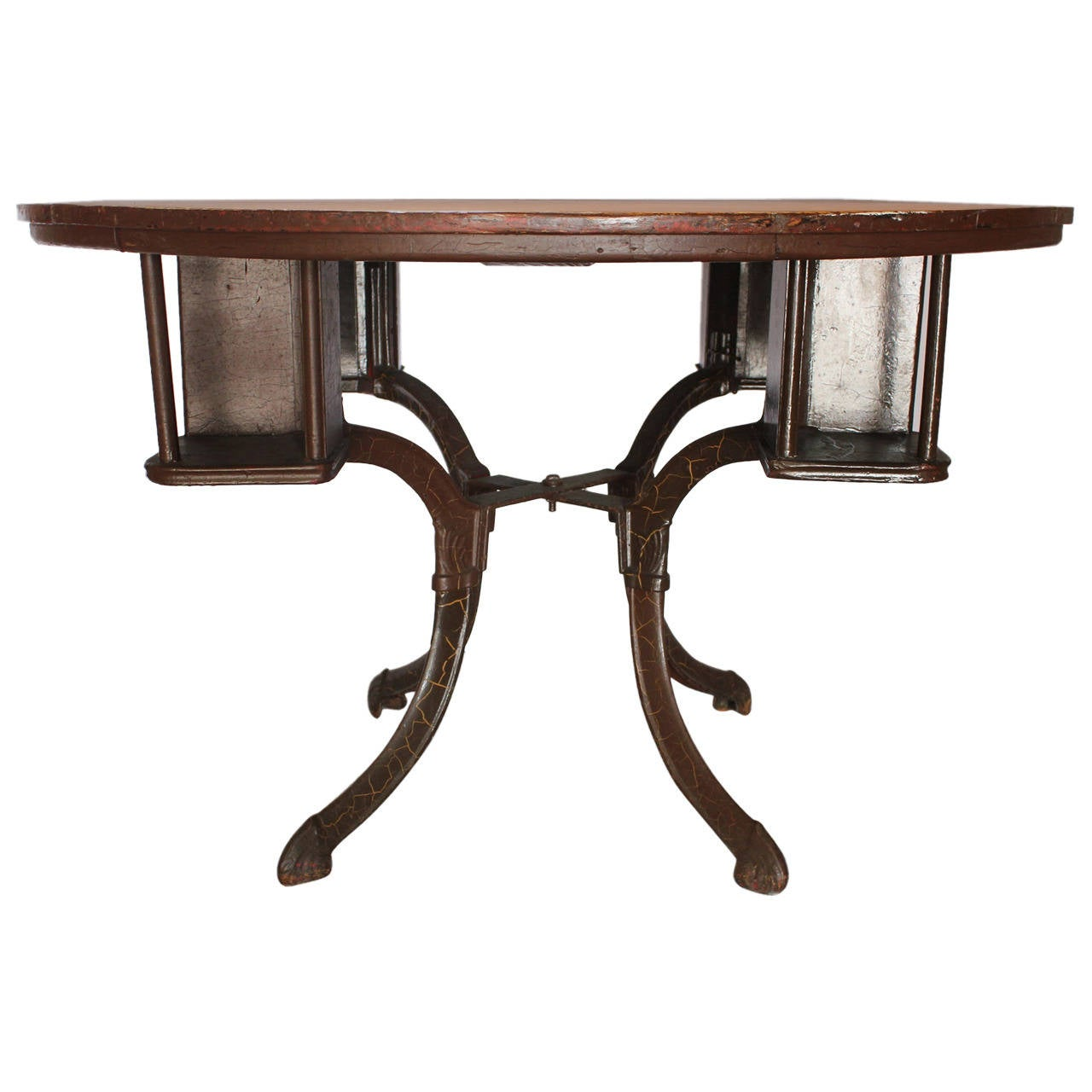 Antique american game table at 1stdibs for 11 in 1 game table