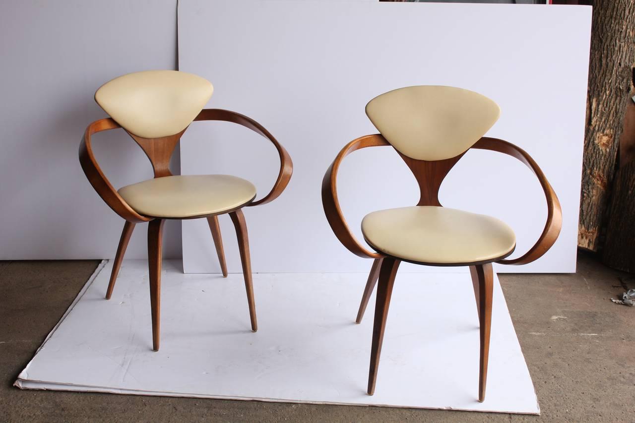 Delicieux Original 1950u0027s Pretzel Chairs Designed By Norman Cherner. Original  Upholstery.