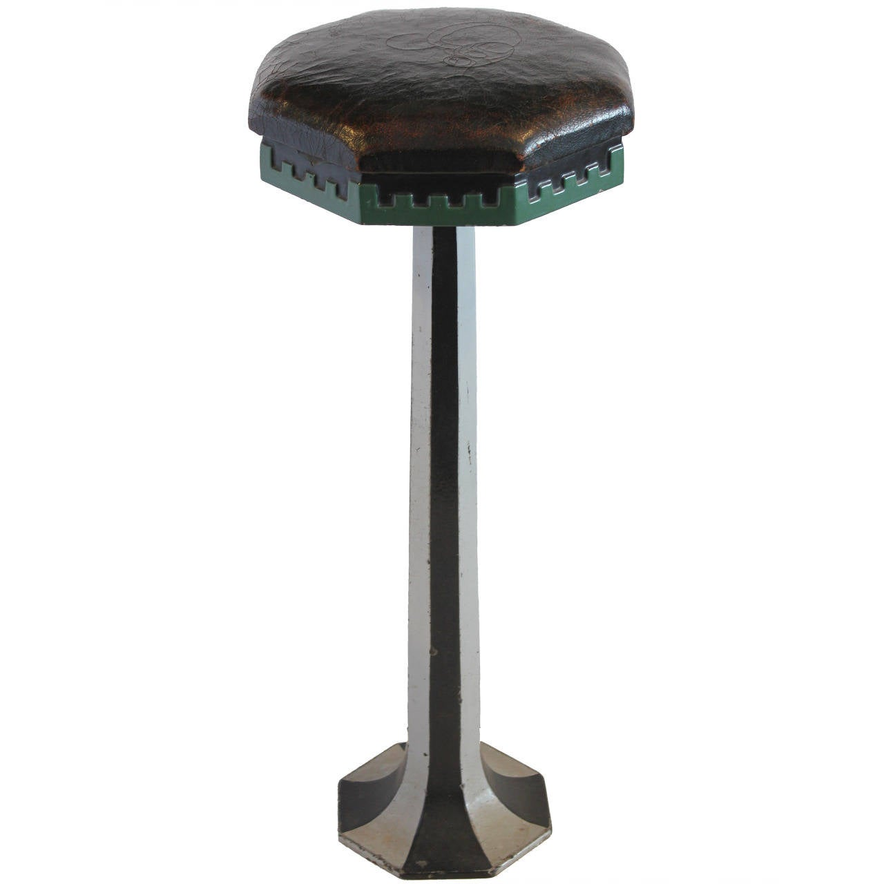 Early 20th Century Ice Cream Parlor Stool