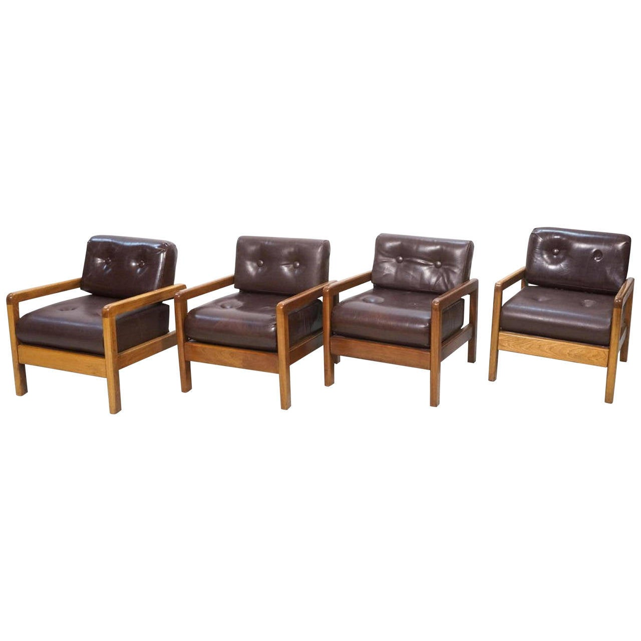 Stylish Milo Baughman Lounge Chairs for Thayer Coggin For Sale