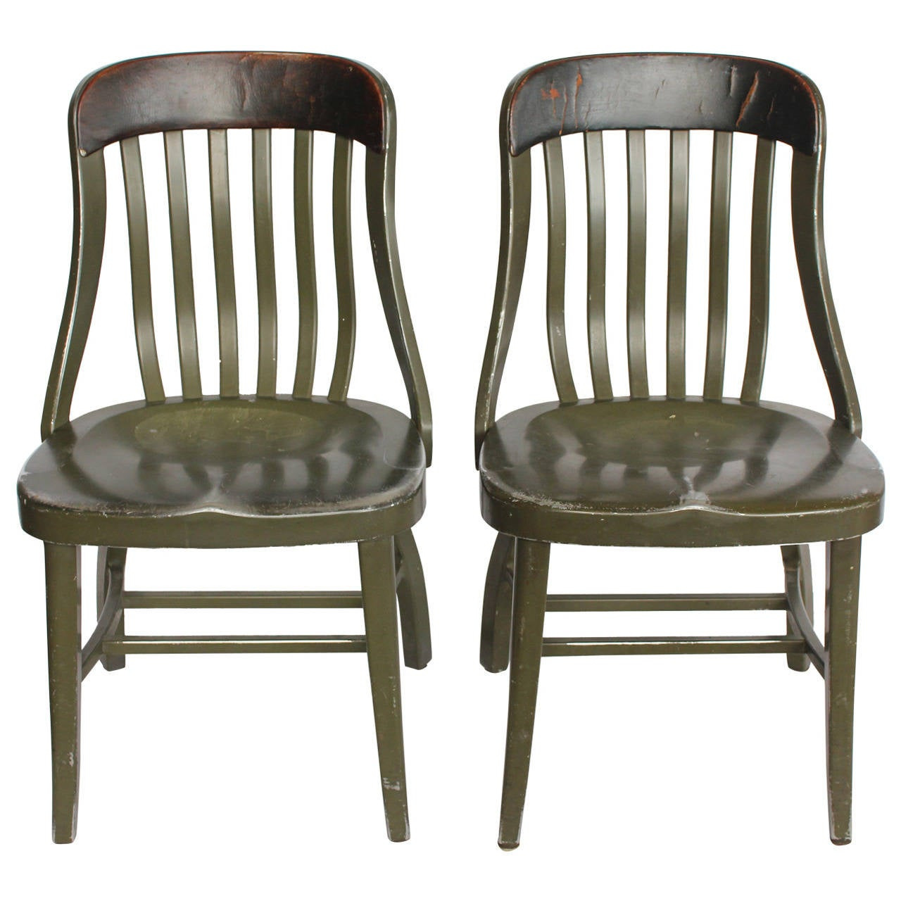 Vintage Metal Chairs By Shaw Walker At 1stdibs