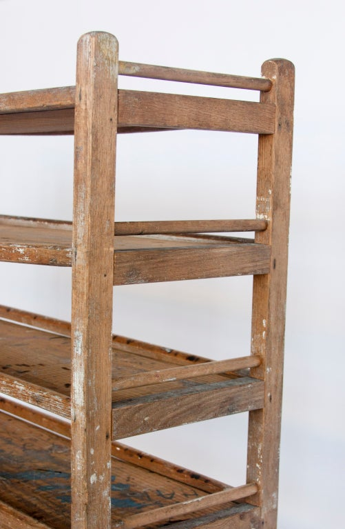 Antique Bakery Wooden Shelves 2