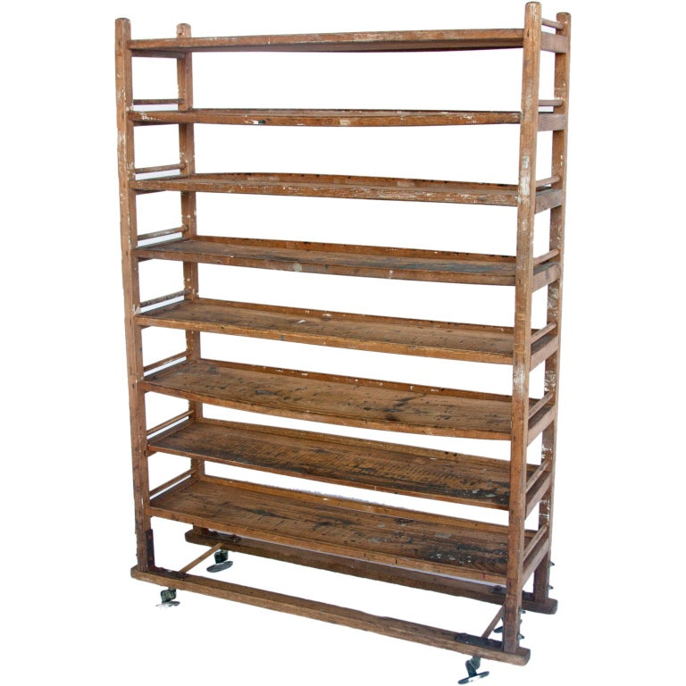 Antique Bakery Wooden Shelves 1