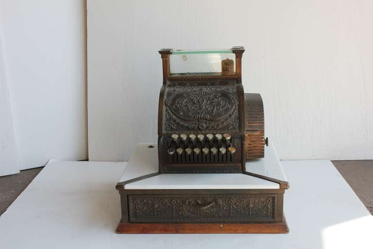 Antique Candy Store Decorative Cash Register By National