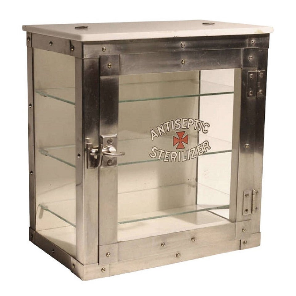 Rare 1930s sterilizer cabinet by emily j paidar company for Cabinet companies