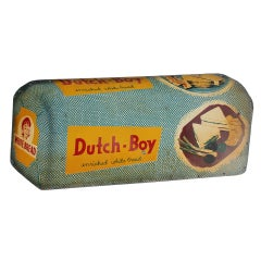 1950's Advertising Masonite Sign For Dutch Boy