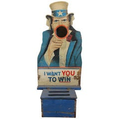 1940s Folk Art Carnival Uncle Sam Game