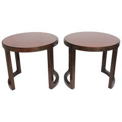 Stylish Side Tables by Edward Wormley for Dunbar