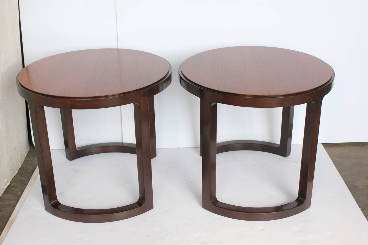 American Stylish Side Tables by Edward Wormley for Dunbar For Sale
