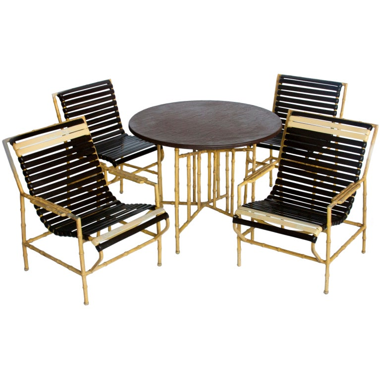 Mid Century Garden Furniture For Sale at 1stdibs