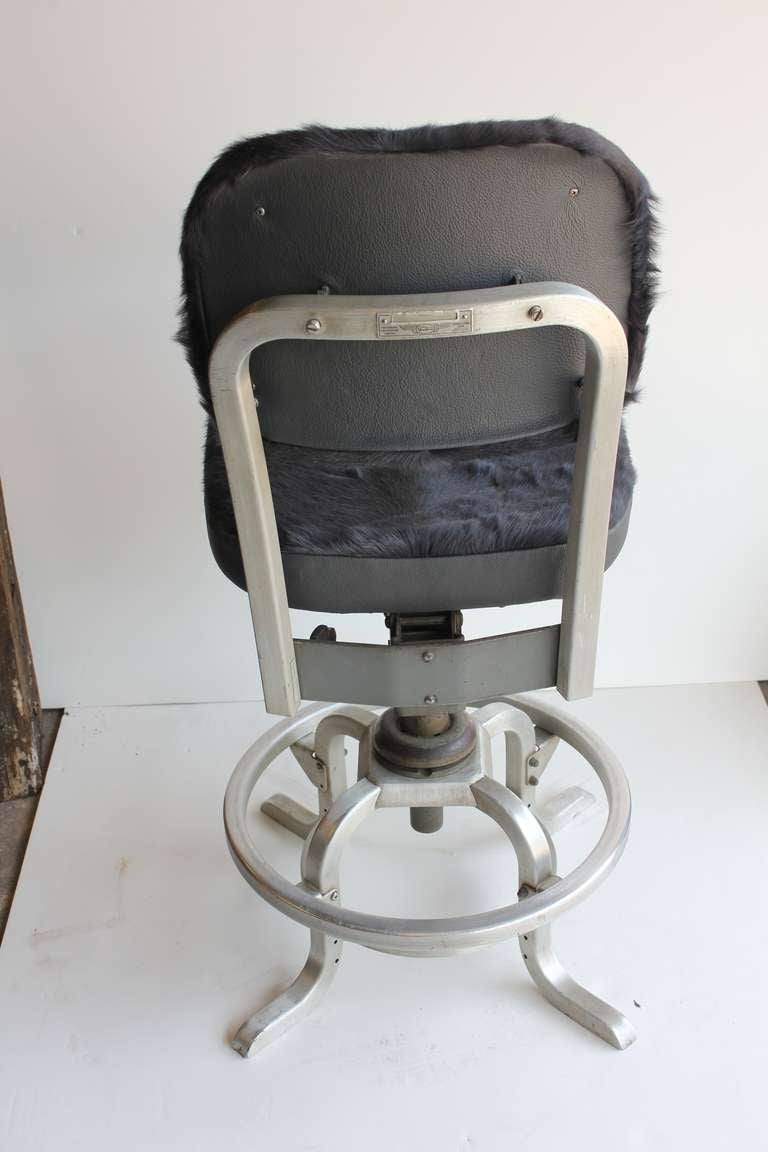 Desk Chair With Cowhide Upholstery By Goodform For Sale At