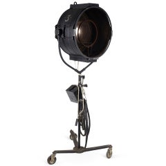 Art Deco Mole Richardson Hollywood Stage Light For Sale At