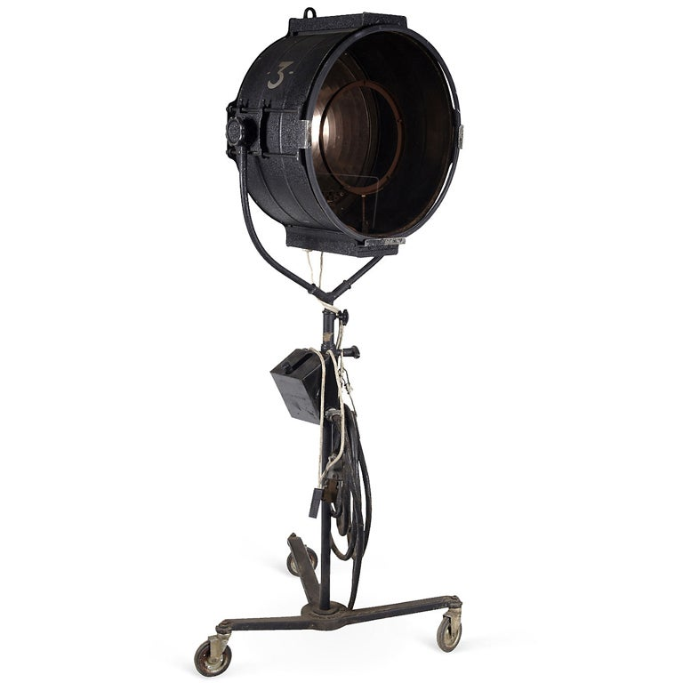 Industrial Style Theatre Stage Floor Light At 1stdibs