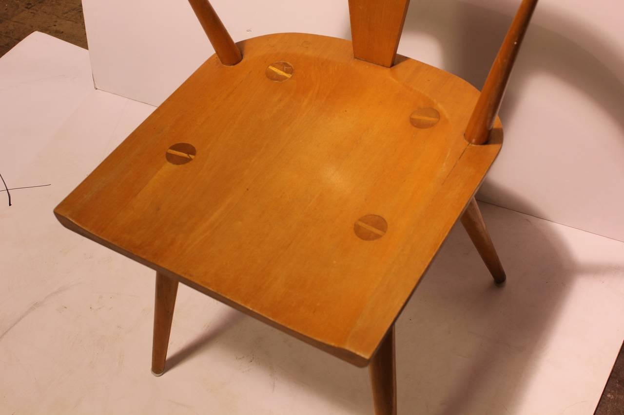 Mid-Century Modern Stylish Mid-Century Paul McCobb Planner Group Chair For Sale
