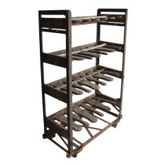 Antique Industrial Shelving Unit