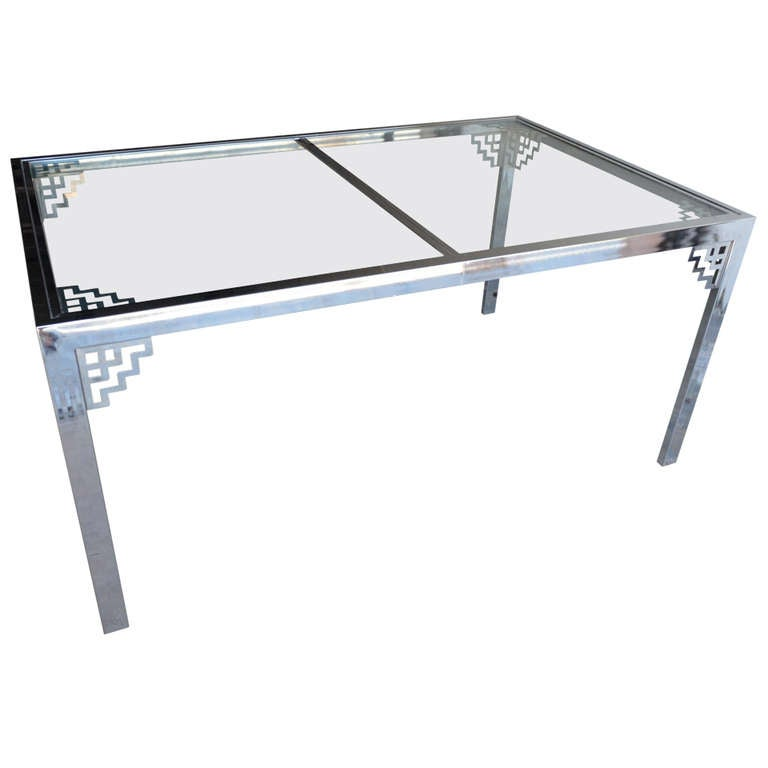 Steel Dining Table At 1stdibs