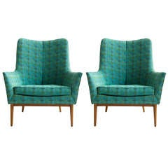 Pair of Paul McCobb Loung Chairs