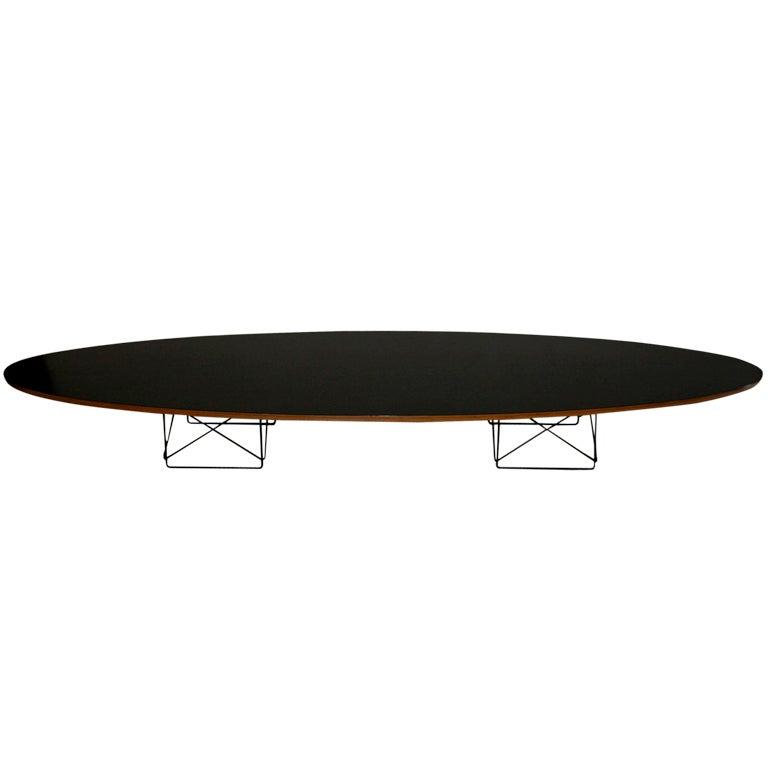 Eames Surfboard Elliptical coffee table by Herman Miller ...
