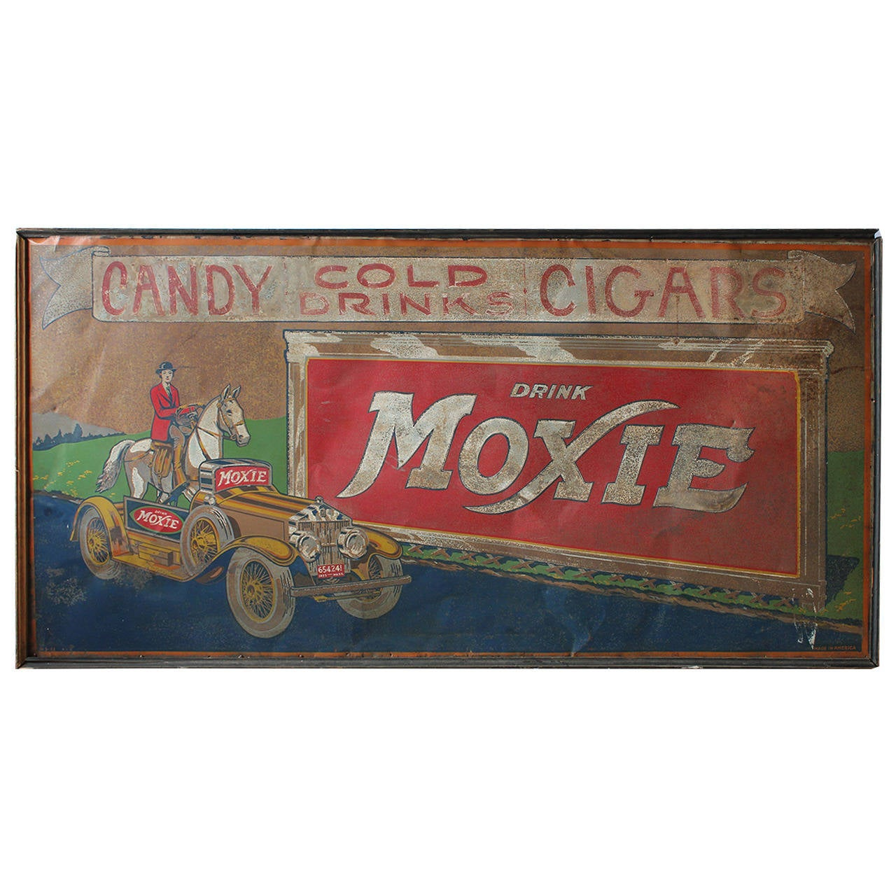"""Rare 1933 Tin """"moxie"""" Sign At 1stdibs. Pancreatic Cancer Signs. Feels Signs. Leader Signs. Congestion Signs. Skull Signs Of Stroke. Asbestos Removal Signs. Theater Signs. Joanna Gaines Kitchen Signs"""