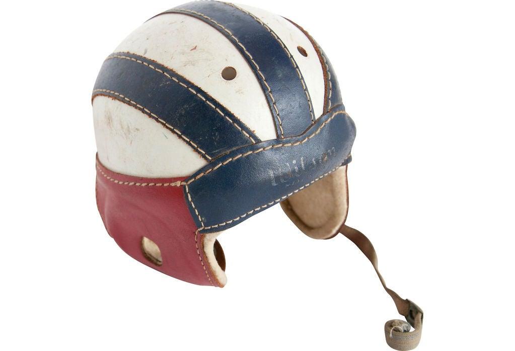 Vintage Leather Football Helmets 33