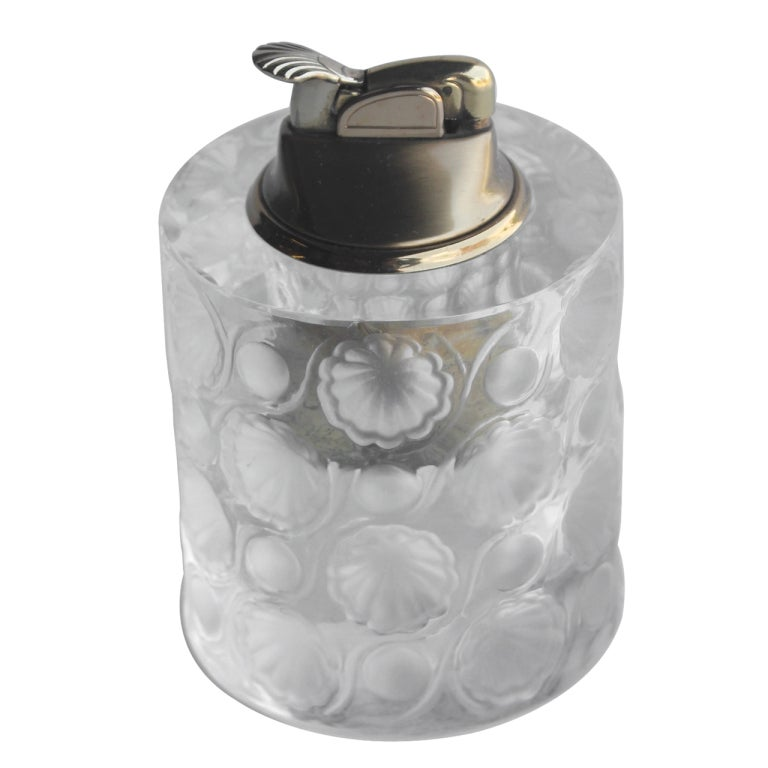 Lalique French Crystal Tokyo Lighter