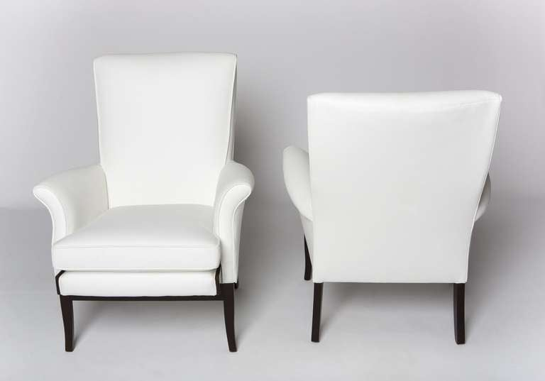 Pair of 1950's English Lounge Armchairs by Parker Knoll 2