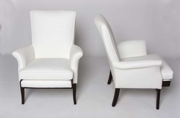 Pair of 1950's English Lounge Armchairs by Parker Knoll 3