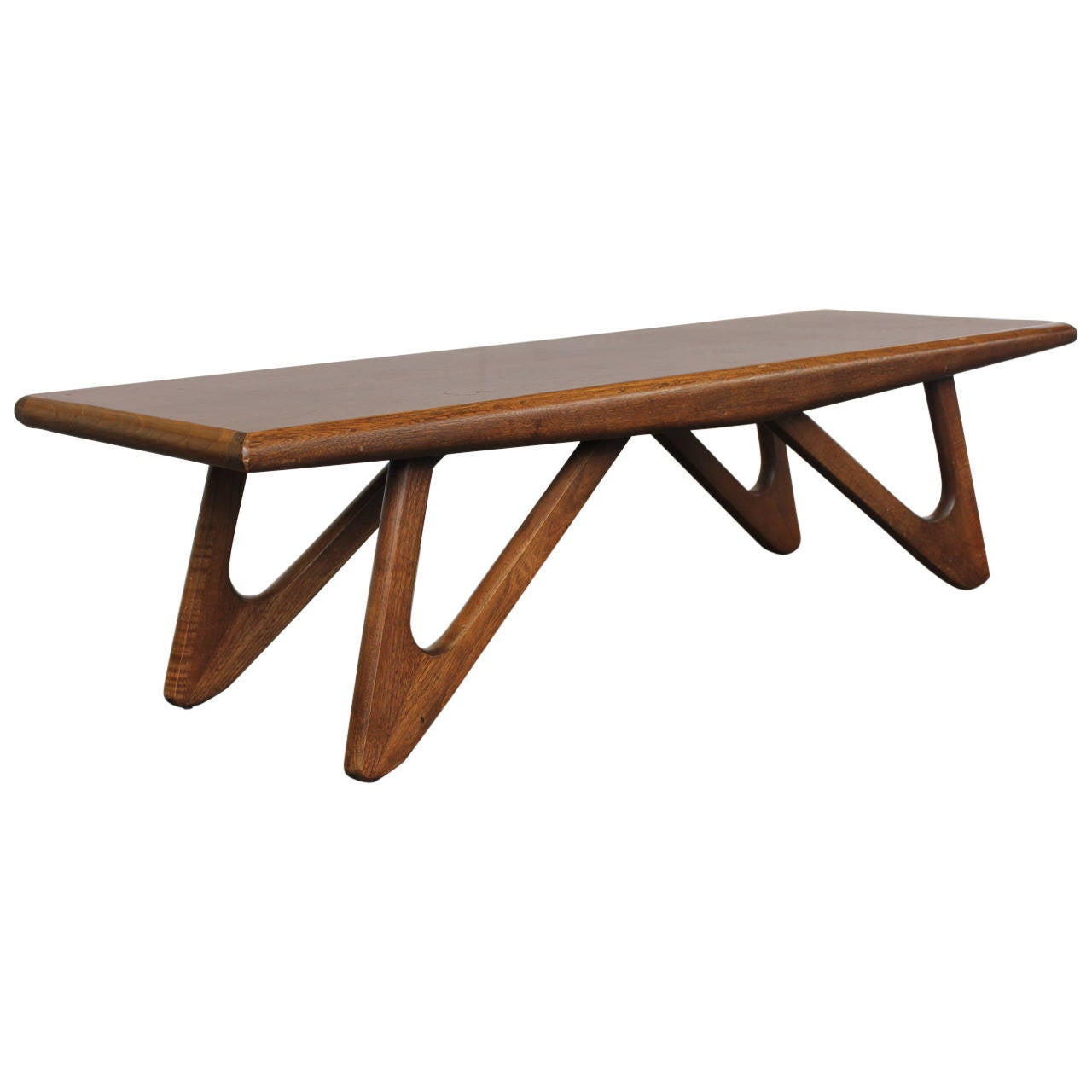 Adrian Pearsall Style Boomerang Coffee Table At 1stdibs