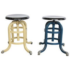 1930s American Medical Adjustable Stool