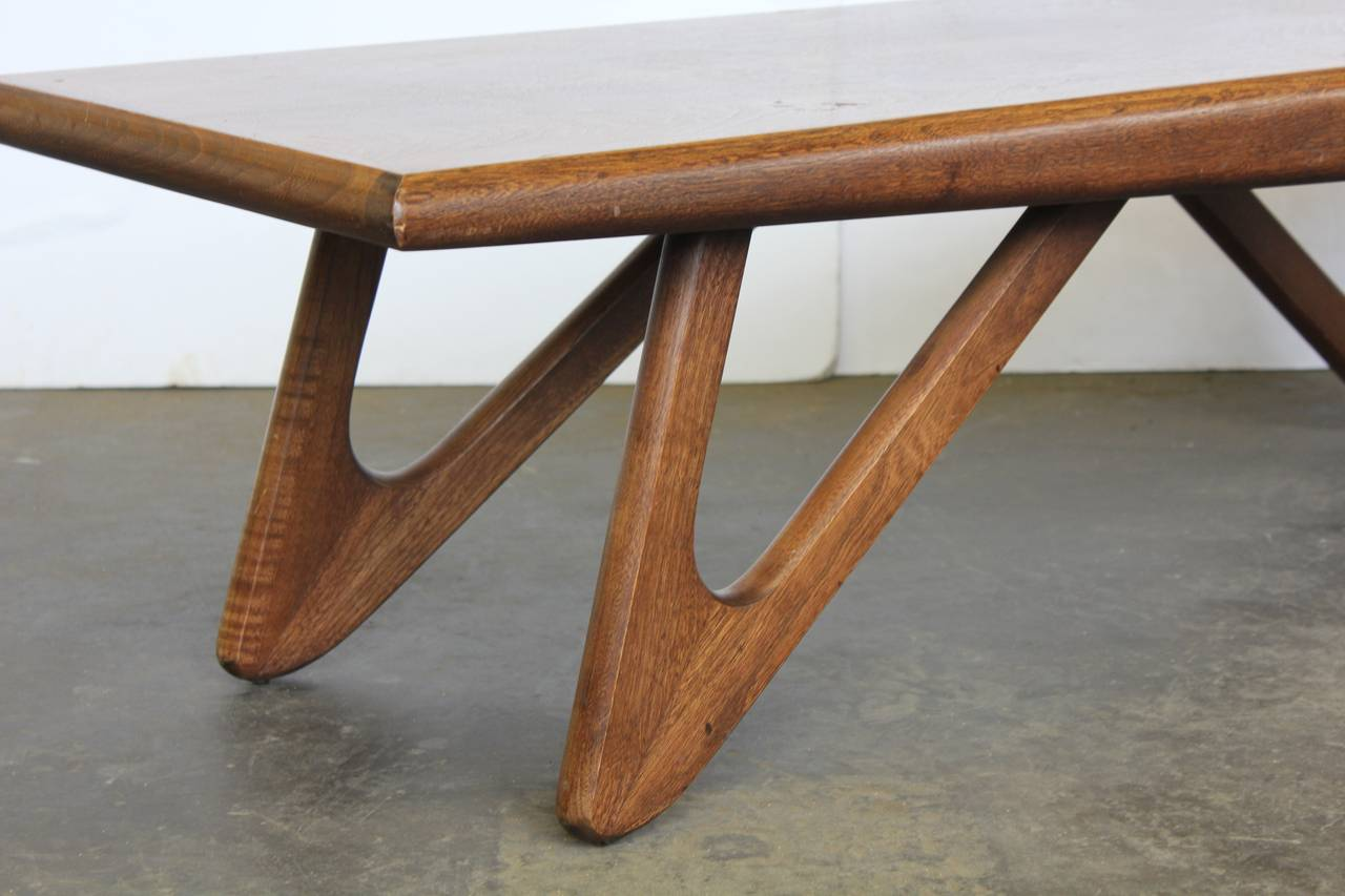 Boomerang Coffee Table Adrian Pearsall Style Boomerang Coffee Table At 1stdibs