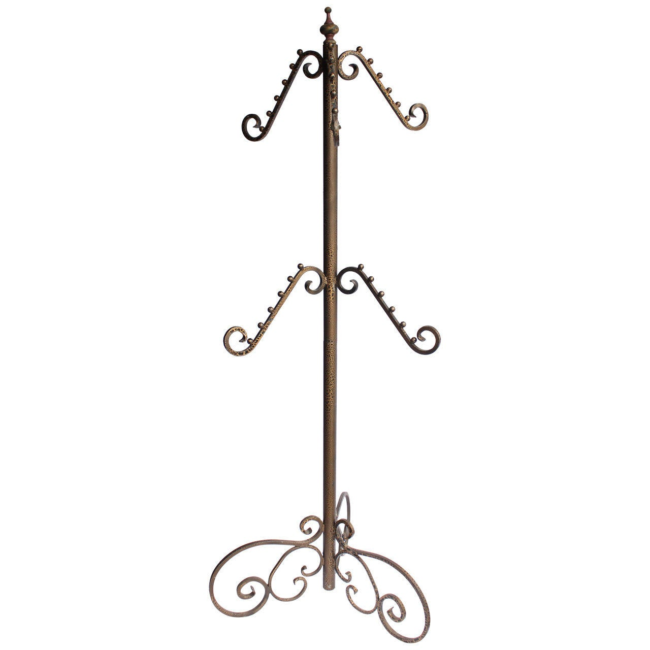 Vintage Metal Department Store Coat Rack
