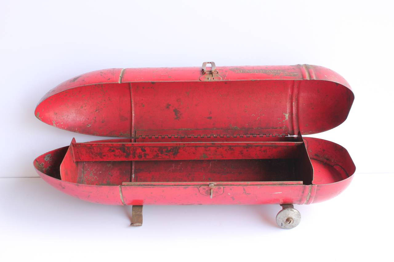 vintage american zeppelin tool box by blackhawk for sale at 1stdibs