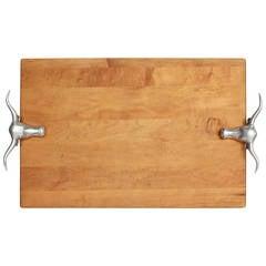 Large Vintage Butcher Cutting Board