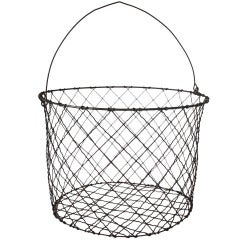 Over Sized Antique Wire Basket