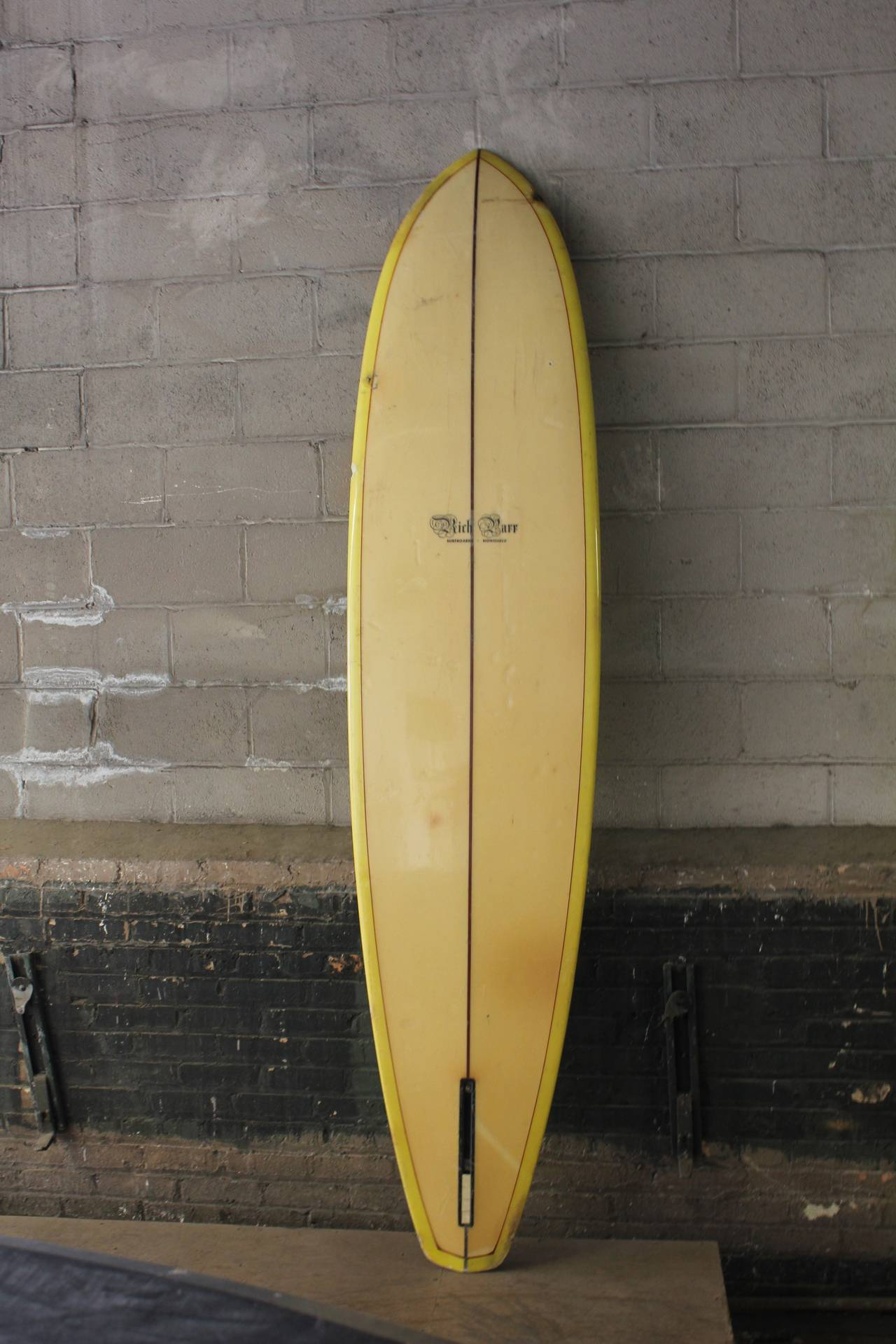 Vintage Surfboard by Rich Parr Surfboards, Honolulu at 1stdibs