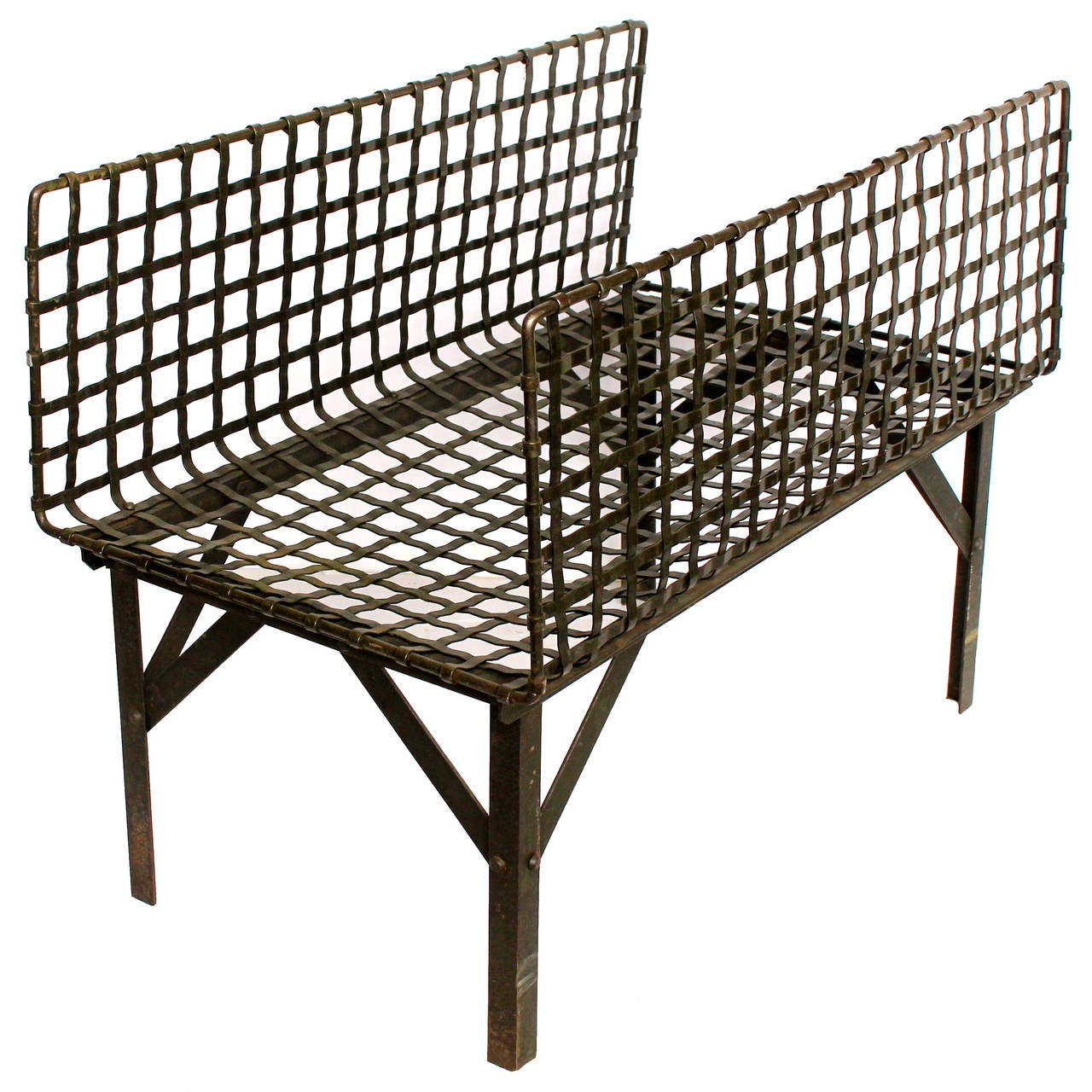vintage american industrial metal stand for sale at 1stdibs. Black Bedroom Furniture Sets. Home Design Ideas