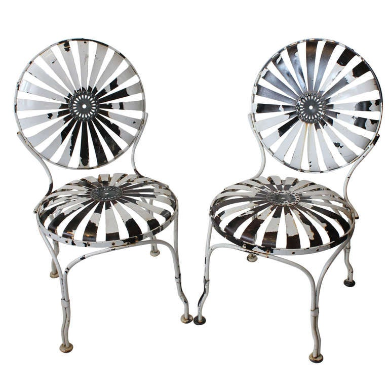 1930 u0026 39 s french garden chairs by francois carre at 1stdibs