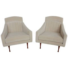 Rare Mid-Century Lounge Chairs by Paul McCobb