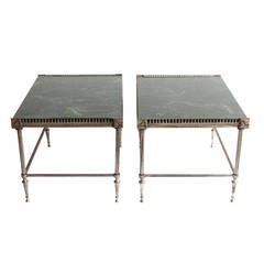 Pair of Jansen Style End Tables