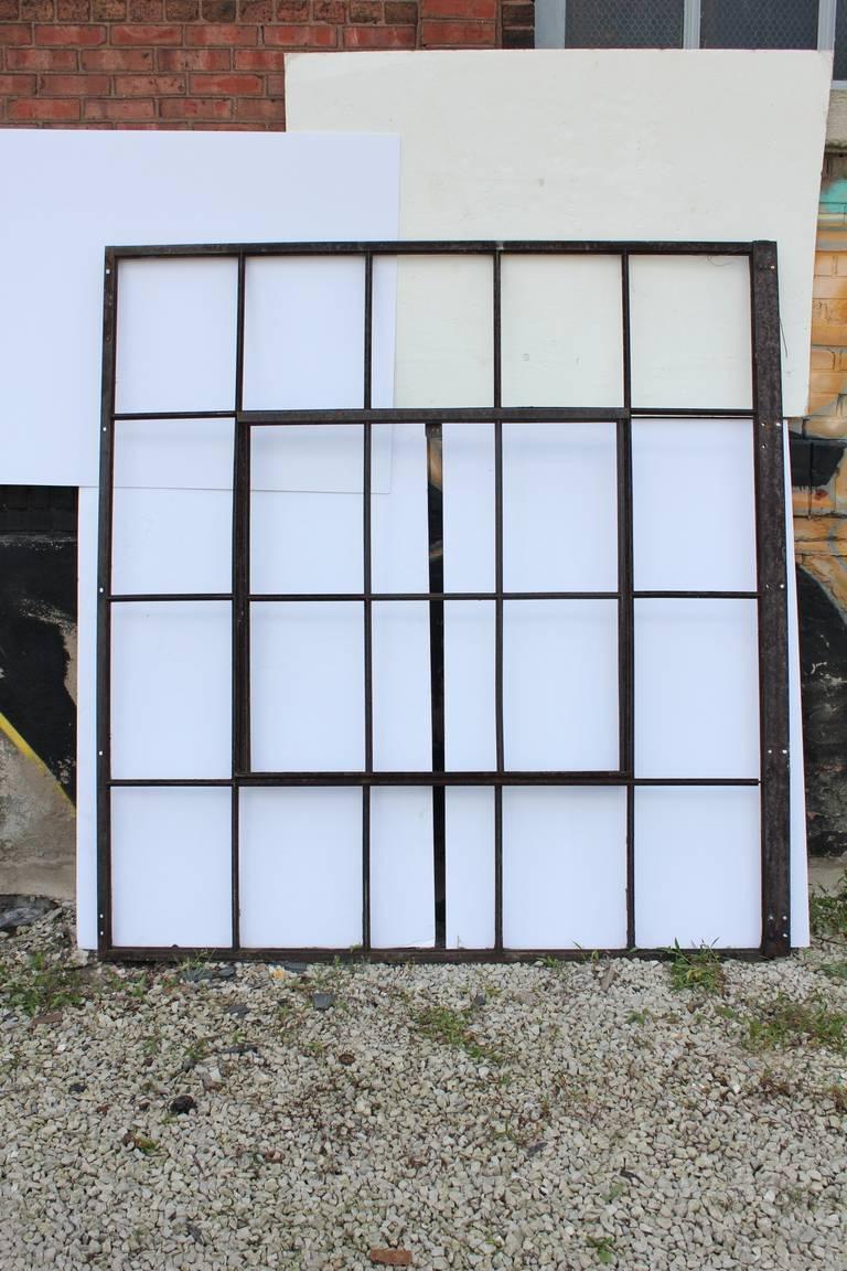 Old Casement Windows : Large antique industrial metal casement window more