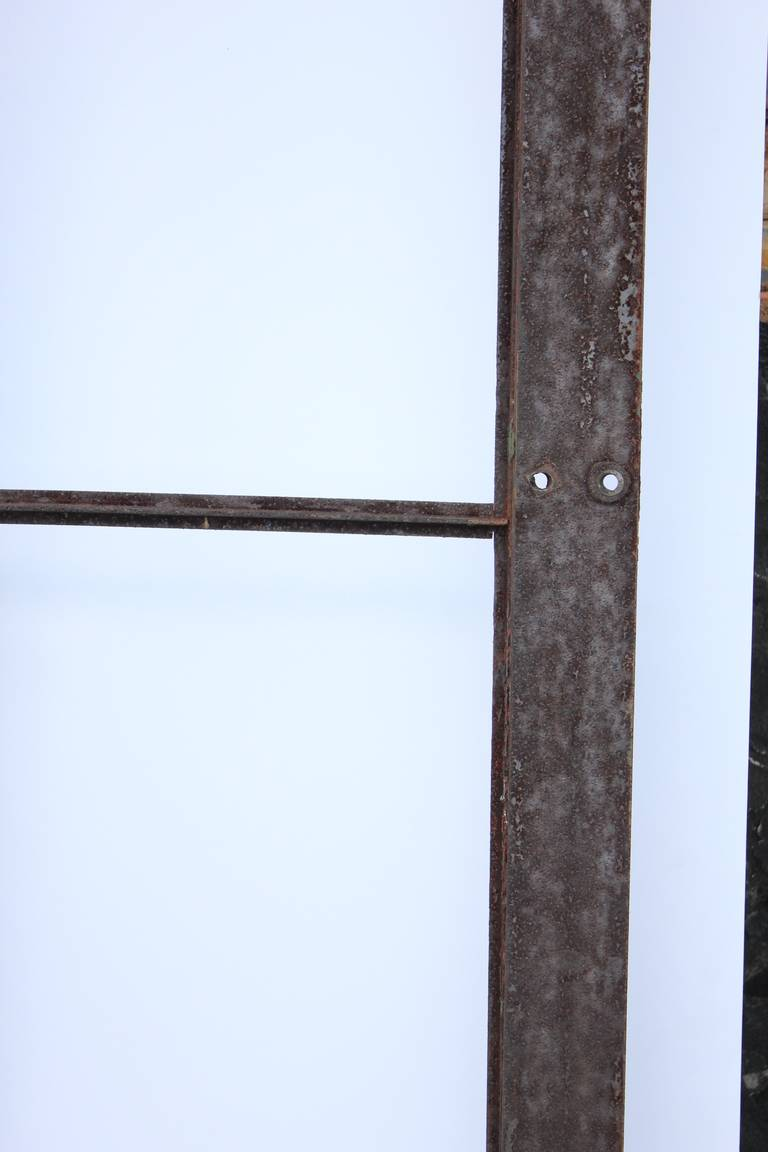 Large Antique Industrial Metal Casement Window More