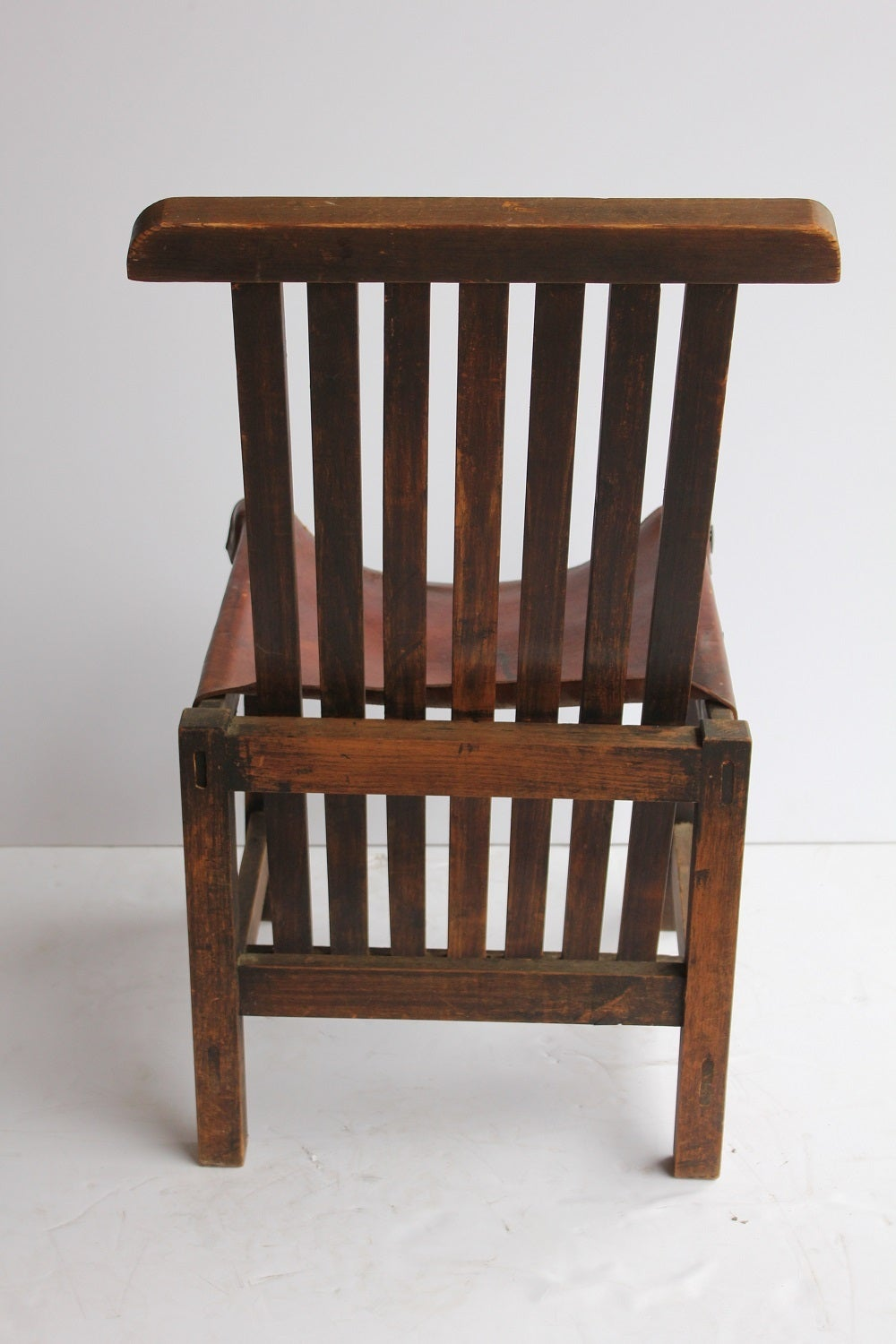 Wide club arm chair vintage brown cigar italian leather comfort ebay - Antique Leather Chairs For Sale