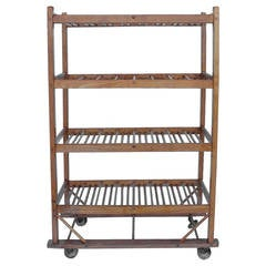 19th Century American Cobbler Wood Rack/Shelves, 4 Available