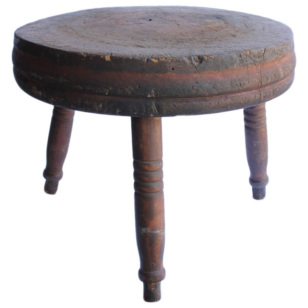 antique american butcher block table for sale at 1stdibs
