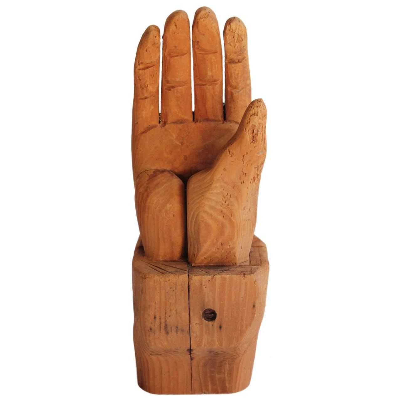 Antique folk art hand carved wood for sale at stdibs