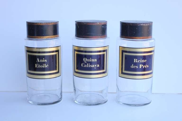 Antique French Apothecary Jars 2