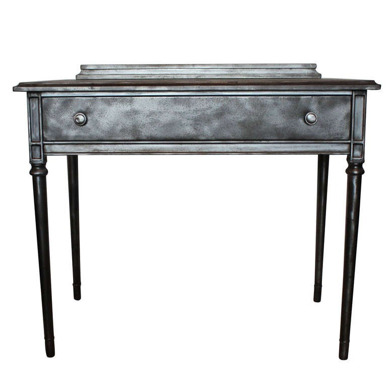 Vintage Metal Desk By Simmons At 1stdibs