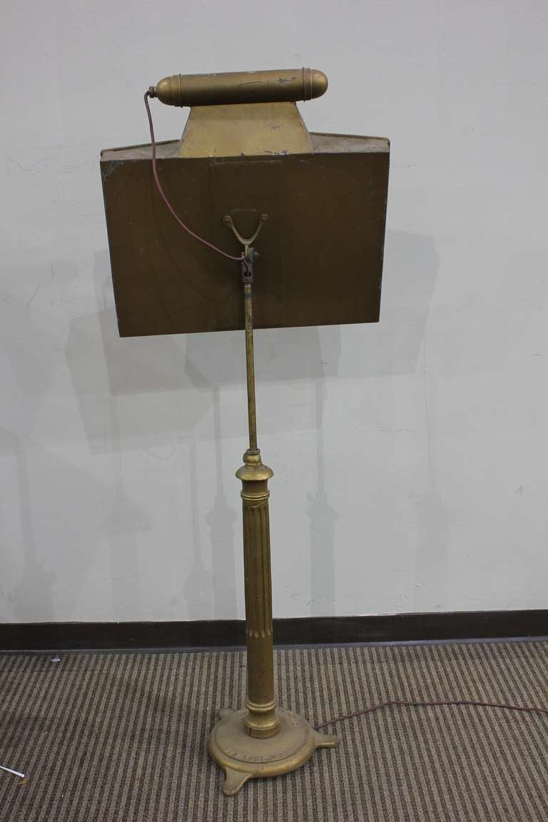 Antique Orchestral Music Light Up Stand By Stage Lighting