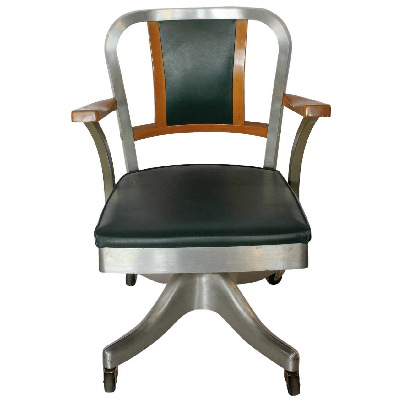 1940s desk chair by shaw walker at 1stdibs