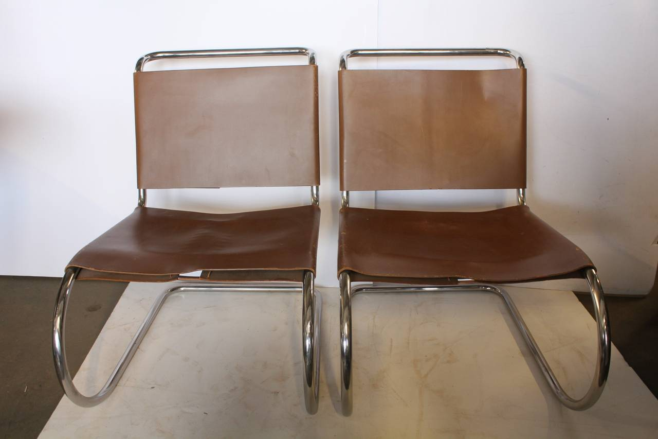 this 1950s mr lounge chairs by mies van der rohe is no longer
